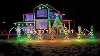 getlinkyoutube.com-Trista Lights 2016 Christmas Light Show - Featured on ABC's The Great Christmas Light Fight