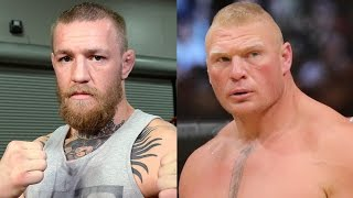 getlinkyoutube.com-Conor McGregor Calls Out Brock Lesnar & Calls The Rest of WWE 'P*ssies'