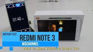 getlinkyoutube.com-MSmobile - Test pin Redmi Note 3: Quá sức tưởng tượng !!!