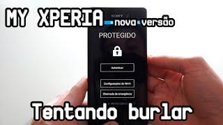 getlinkyoutube.com-My Xperia: Tentando burlar o sistema novo de bloqueio!