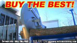 getlinkyoutube.com-FIREWOOD PROCESSOR: The Bell's Machining 6000 Series (2015 Update!)