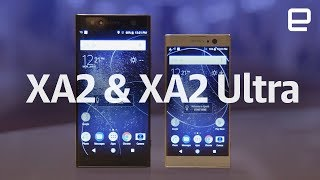 Sony Xperia XA2 and XA2 Ultra hands-on at CES 2018