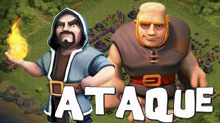getlinkyoutube.com-Gigantes con magos no falla | Ataques #32 | Descubriendo Clash of Clans