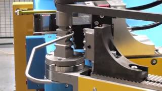 getlinkyoutube.com-TUBOTRON 25 MR - CNC Mehrebenen-Rohrbiegemaschine / CNC multi-radii tube bending machine