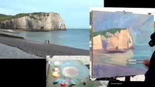 getlinkyoutube.com-José SALVAGGIO plein air painting 37 Oh, sea