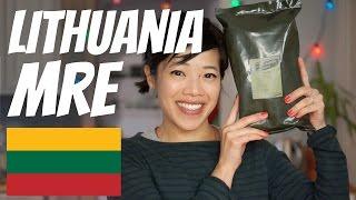 getlinkyoutube.com-LITHUANIAN Military Ration Taste Test   Lithuania MRE
