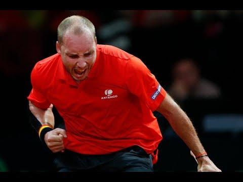 Shot of the Day: Steve Darcis (BEL)