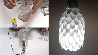 getlinkyoutube.com-DIY Crafts - How to Make Bedroom Ceiling Light - Tutorials