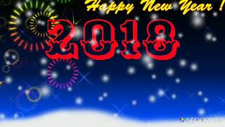 Happy new year 2018,Greetings,What's app status,Gif,新年,nouvel An,Ano nuevo,Novyy god,