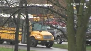 Oak Park High School estuvo bajo alerta máxima la mañana de este lunes