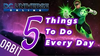 getlinkyoutube.com-DCUO | 5 Things to do every day