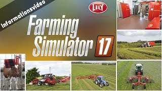 getlinkyoutube.com-Erster Lizenzpartner für den Landwirtschaft Simulator 2017 bekannt | LS 17 Infovideo