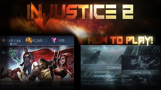 getlinkyoutube.com-How to Play Injustice 2 Mobile! IOS/Android (Part 2)