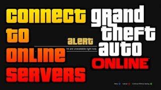 getlinkyoutube.com-GTA V - How To CONNECT to Rockstar Servers and Play GTA Online (TROUBLESHOOTING STEPS & METHODS)