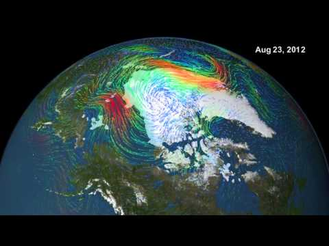 Arctic Cyclone Breaks Up Sea Ice