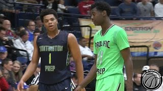 getlinkyoutube.com-Miles Bridges vs Josh Jackson in 2015 Flyin' to the Hoop - Top TEN Juniors from Michigan BATTLE