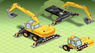 getlinkyoutube.com-เกมส์ ประกอบรถแม็คโคร รถดับเพลิง รถขยะ-Build a Vehicle Activity Book
