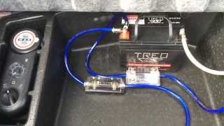 Installation: Second Battery for Car Audio - Custom 2010 Dodge Challenger SRT8