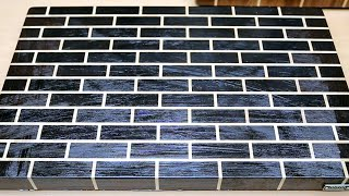 "Making a ""Brick Wall"" end grain cutting board"