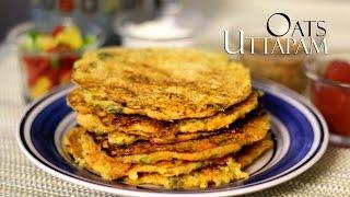 getlinkyoutube.com-Oats Uttapam Recipe - Oats Dosa   Instant Uttapam Recipe - Indian Breakfast & Kids Snacks Recipes