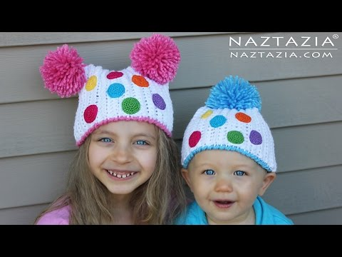 DIY Tutorial - Crochet Birthday Party Hats for Kids (Children, Young Adults, Gorro)