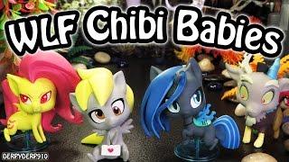 getlinkyoutube.com-My Little Pony WeLoveFine Chibis Villains Fluttershy Derpy Queen Chrysalis Discord MLP Toy Review