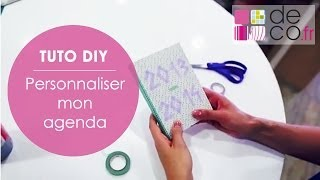 download video diy customiser son agenda. Black Bedroom Furniture Sets. Home Design Ideas