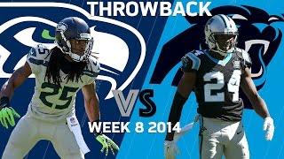 getlinkyoutube.com-Seahawks vs. Panthers (Week 8, 2014)   Legion of Boom Stop Super Cam   Classic Highlights   NFL