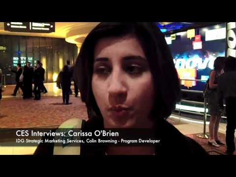 hqdefault CES 2011: Interview with Carissa O&#039;Brien