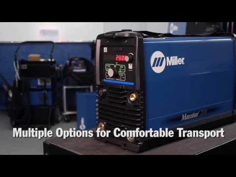 Miller Maxstar 280 TIG Welder Delivers More Power in Capable and Portable, Light-Weight Package