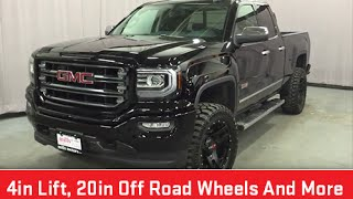 getlinkyoutube.com-2016 GMC Sierra 1500 SLE Double Cab 4WD 4 Inch Suspension Lift Oshawa ON Stock # 160391