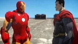 flushyoutube.com-IRON MAN VS SUPERMAN - EPIC SUPERHEROES BATTLE - GTA IV