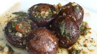 Marinated Mushrooms ..