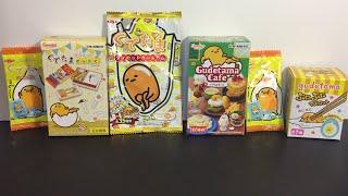 getlinkyoutube.com-Gudetama Sanrio & Re-ment Japanese Blind Boxes & Bags Toy Opening