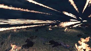 getlinkyoutube.com-6000 Crossbows vs 1000 Immortals Attila Total War