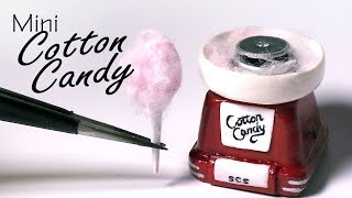 getlinkyoutube.com-Miniature Cotton Candy Machine - Polymer Clay Tutorial