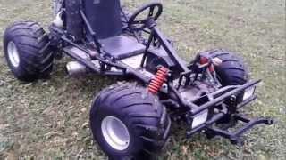 getlinkyoutube.com-Motor Go kart mit Honda CBR 600F Motor