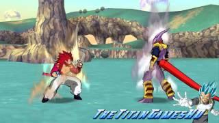getlinkyoutube.com-Dragon Ball Z Shin Budokai 2 - Gogeta Ssj4 + GT Mods - Descarga Por Mega