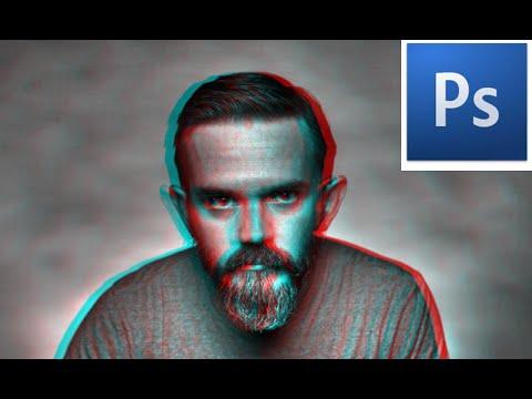 اسهل طريقة لعمل تأثير صورة 3D بالفوتوشوب