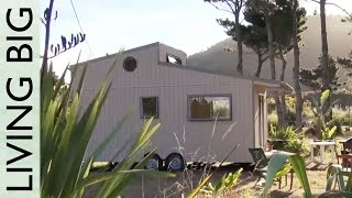 getlinkyoutube.com-Amazing DIY Off-Grid Modern Tiny House - Moved In