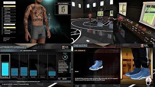 getlinkyoutube.com-NBA 2K16 PS4 MyCAREER - MyCOURT CUSTOMIZATION, TATTOOS AND MORE! ATTRIBUTE UPGRADE #1