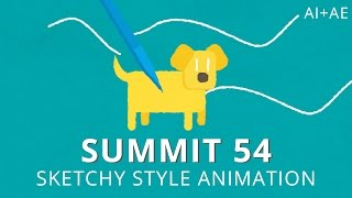 getlinkyoutube.com-Summit 54 - Sketchy Style Animation - After Effects