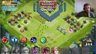 CC #232 Goldjagd mit Unit by Hunted Castle Clash Schloss Konflikt
