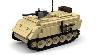 getlinkyoutube.com-Lego M113 AFV Instructions