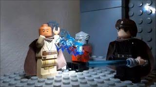 getlinkyoutube.com-Lego Star Wars Ep. III Mace Windu vs. Emperor Palpatine