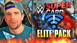 getlinkyoutube.com-WWE SuperCard - ELITE PACK OPENING!! NEW TIER!! WAITING ON NETWORK SIMULATOR 2016!