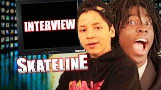 getlinkyoutube.com-SKATELINE - Steven Fernandez, Guy Mariano, Zered Bassett, Tired Skateboards & More...