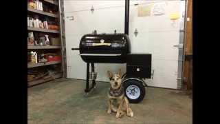 getlinkyoutube.com-Reverse Flow Smoker Build 200 lbs Propane Tank