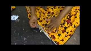 getlinkyoutube.com-No-sew Ankara maxi skirt.