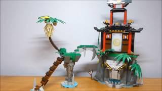 getlinkyoutube.com-Lego Ninjago Tiger Widow Island Review - Set #70604